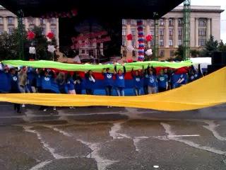 "Штаб РСО ""Адреналин"", 1 сентября 2012 г., пл. Ленина, линейка ПГУ"